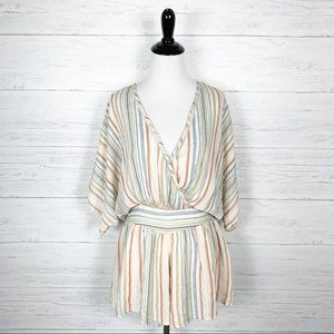 Urban Outfitters • Striped Romper